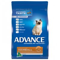 ADVANCE HAIRBALL CAT FOOD CHICKEN 3KG