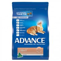 ADVANCE LIGHT CAT FOOD 3KG