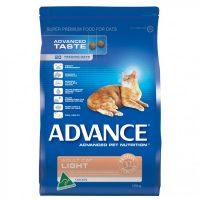 ADVANCE LIGHT CAT FOOD 3KG