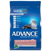 ADVANCE MATURE CAT FOOD WITH FISH 3KG